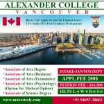 Alexander College, Vancouver , BC