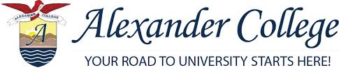 Invitation to recruit for Alexander College Vancouver, BC, Canada
