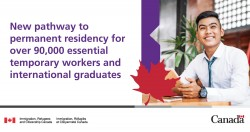 New pathway will allow eligible international graduates in Canada to apply for Permanent Residence.