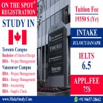 Study @ Yorkville University - Campus- Vancouver/ Toronto Campus - CANADA